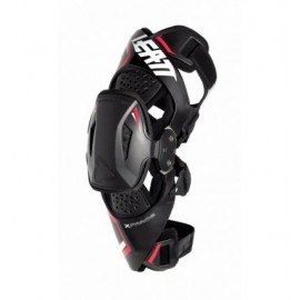 LEATT KNEE BRACE X-FRAME PRO CARBON BLACK/RED