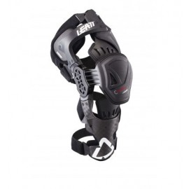 LEATT KNEE BRACE C-FRAME PRO CARBON BLACK/RED