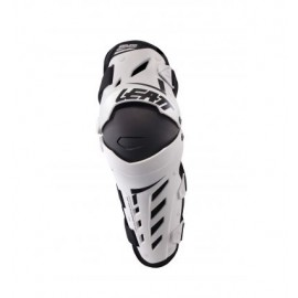 KNEE & SHIN GUARD DUAL AXIS WHITE/BLACK