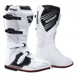 KENNY TRACK BOOTS WHITE