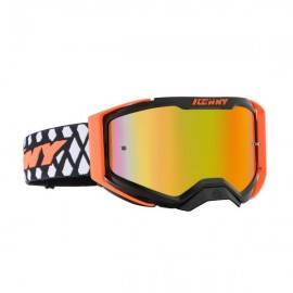 PERFORMANCE Goggles Level 2 Black Neon Orange