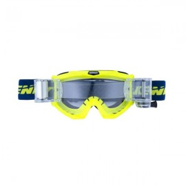 KENNY Lunettes Track Max Bleu / jaune fluo ROLL-OFF