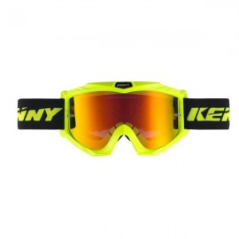 KENNY Lunettes Track + Jaune fluo