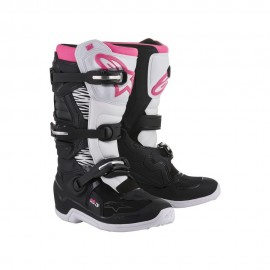 Alpinestars Cizme Stella Tech 3 Black/White/Pink