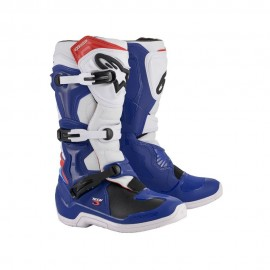 Alpinestars Cizme Tech 3 Blue/White/Red 2020