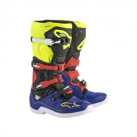Alpinestars Cizme Tech 5 Blue/Black/Yellow/Red 2019