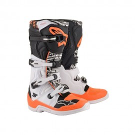Alpinestars Cizme Tech 5 White Gray/Orange 2020