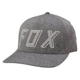 FOX BARRED FLEXFIT HAT [DRK GRY]