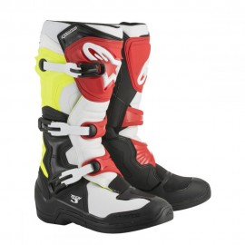 Alpinestars Cizme Tech 3 Black/White/Yellow/Red