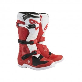 Alpinestars Cizme Tech 3 Red/White/Black