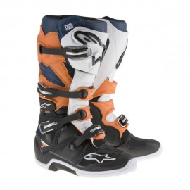 Alpinestars Cizme Tech 7 Black/Orange/Blue
