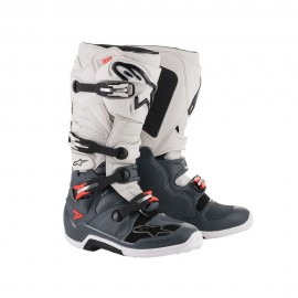 Alpinestars Cizme Tech 7 Dark Gray/Teal/White