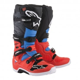 Alpinestars Cizme Tech 7 Red/Cyan/Gray/Black