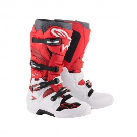 Alpinestars Cizme Tech 7 White/Red/Burgundy