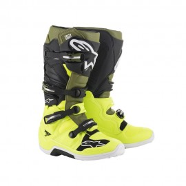 Alpinestars Cizme Tech 7 Yellow/Military