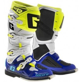 GAERNE BOOTS SG 12 BLUE-WHITE-YELLOW