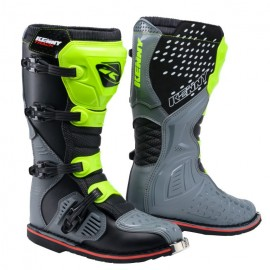 KENNY Boots Track Grey Neon yellow