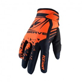 KENNY Gloves Brave Neon Orange