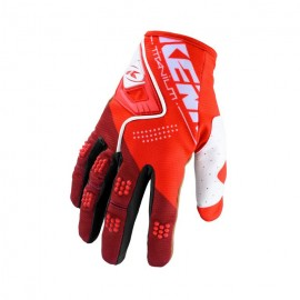 KENNY Gloves Titanium Red