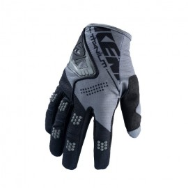 KENNY Gloves Titanium Black Grey