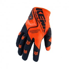 KENNY Gloves Titanium Black Orange