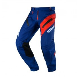 KENNY Pants Titanium Navy Red