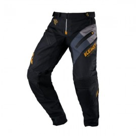 KENNY Pants Titanium Black Gold