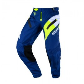 KENNY Pants Titanium Navy Neon Yellow