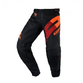KENNY Pants Titanium Black Orange