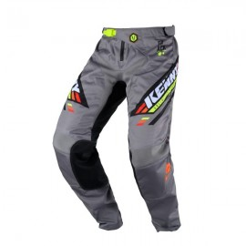 KENNY Pants Track Black Grey Orange