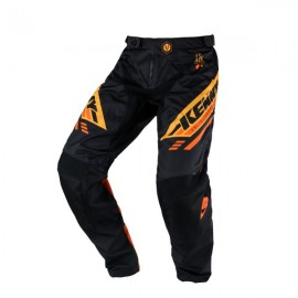 KENNY Pants Track Black Orange