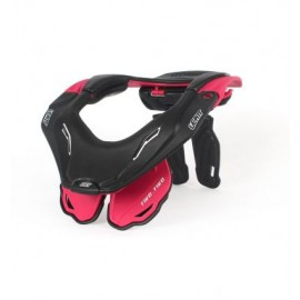 LEATT NECK BRACE DBX 5.5 RUBINE RED/BLACK