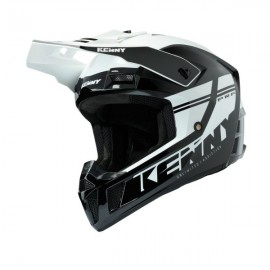 KENNY HELMET PERFORMANCE PRF Black White