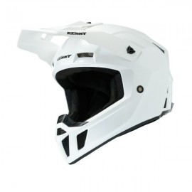KENNY HELMET PERFORMANCE PRF Solid White Pearl