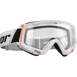 Ochelari THOR COMBAT WEB White/Orange