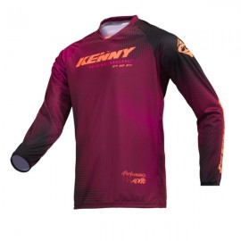 KENNY Jersey Performance Paradise Burgundy