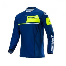 KENNY Jersey Titanium Navy / Neon Yellow