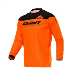 KENNY Jersey Track Raw Neon Orange