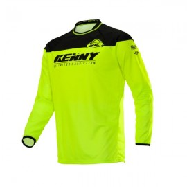 KENNY Jersey Track Raw Neon Yellow