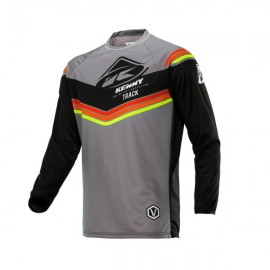 KENNY Jersey Track Black Grey Orange
