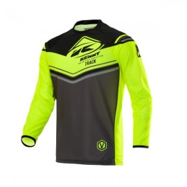 KENNY Jersey Track Charcoal Neon Yellow