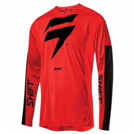 SHIFT 3LACK LABEL RACE JERSEY [RED/BLK]
