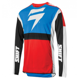 SHIFT 3LACK LABEL RACE JERSEY [BLU/RED]