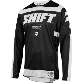 Shift Tricou 3Lack Strike Black/White