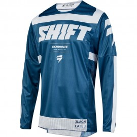 Shift Tricou 3Lack Strike Blue/White 2019