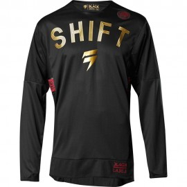 Shift Tricou 3Lack Muerte LE Black/Red
