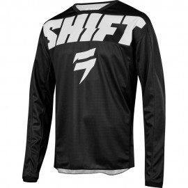 Shift Tricou Whit3 York Black/White