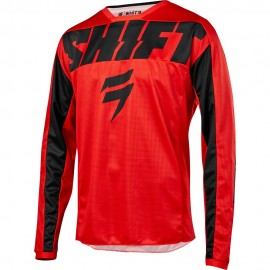 Shift Tricou Whit3 York Red/Black