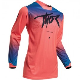 Thor Tricou Dama Pulse Fader S20 Pink/Blue