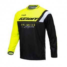 Jersey Track Charcoal Neon Yellow